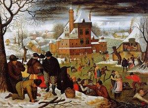 Brueghelian winter